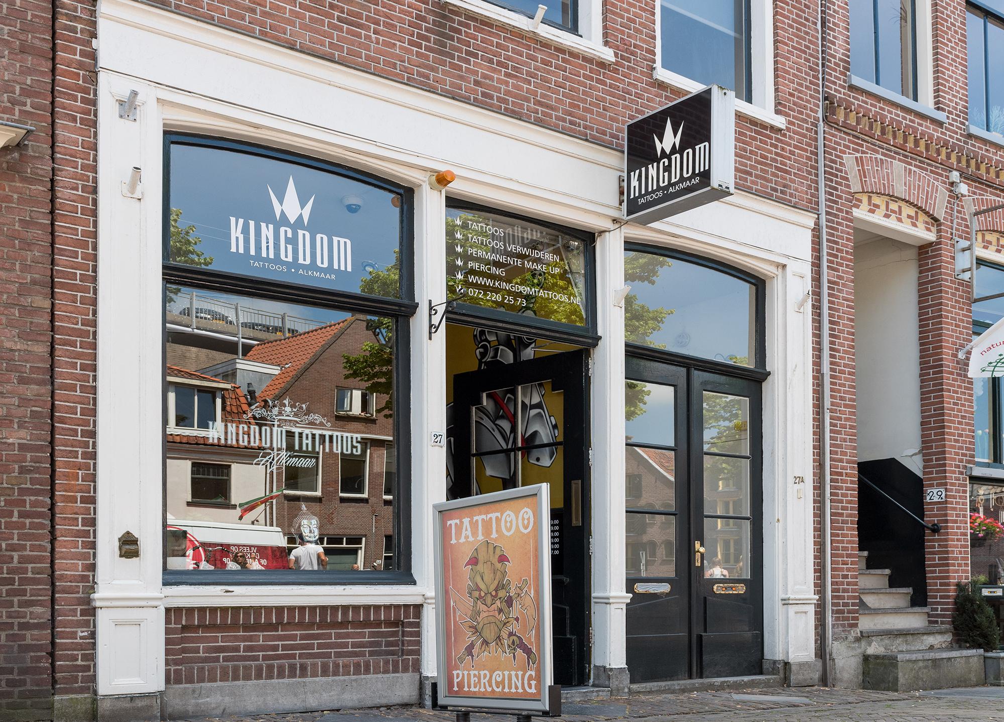 Tattoo Alkmaar Kingdom Tattoo En Piercingshop Alkmaar